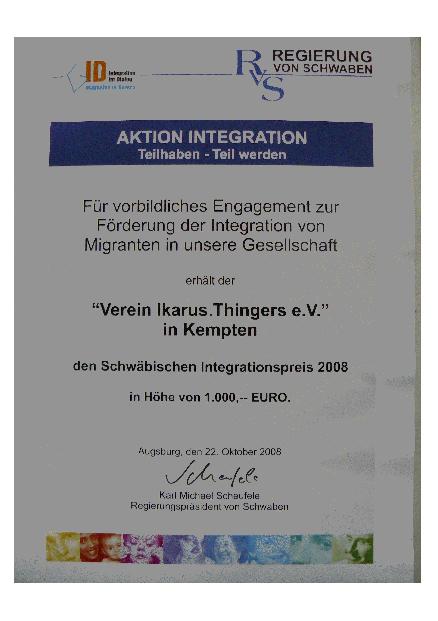 integrationspreis